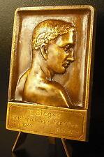 Médaille Carl Poellath Schrobenhausen 1941 sport German Reichsprüfungsgehen Köln