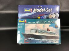 REVELL - 65808 - MAQUETTE - MODEL SET QUEEN MARY 2 BATEAUX