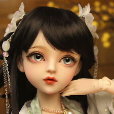 60cm BJD Doll SD Girl + Free Face Makeup + Rechangeable Eyes + Full Set Clothes