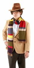 Doctor Who Adult & Teen Fourth Doctor 6 Foot Knit Scarf By Elope