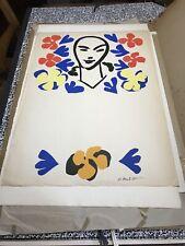 Matisse RARE affiche poster «Avant La Lettre» Tate gallery 1953