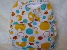 New Cloth Pocket Diaper Nappy Minky Yellow Blue Orange Microfiber Insert Eb1