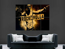 ROCKNROLLA MOVIE  ART WALL LARGE IMAGE GIANT POSTER !!