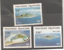1981  FRENCH POLYNESIA  -  SG 353 / 355  UMM