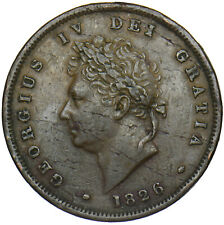 More details for 1826 penny - george iv british copper coin