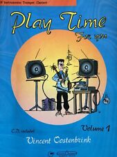 Play Time For You by Vincent Oostenbrink Volume 1 for Trumpet or Clarinet + CD