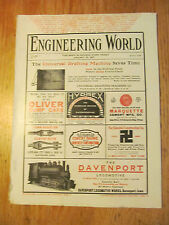 Engineering world 5-4 Jan 1907 Panama Canal, Electrification NY Terminal Lines