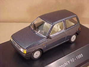 STARLINE #509114 1/43 Diecast 1985 Autobianchi Y 10 Coupe w/LHD Skyblue Metallic