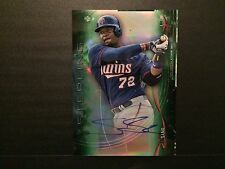 2014 Bowman Sterling Miguel Sano Rookie RC Auto Serial /125 Minnesota Twins.