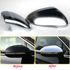 For VW Passat B8 2016 2017 18 Rearview Mirror Cover Replace W/O Side Lane Assist