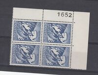 Greenland 1957 60 Ore Mother Of The Sea Block Of 4 SG40 MNH JK2554
