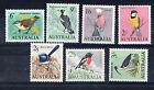 AUSTRALIA 1964-65 BIRD DEFINITIVES SET OF 7 STAMPS  MUH