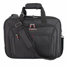 Executive Laptop Messenger Business Office Work Cabin Travel Briefcase Bag UK