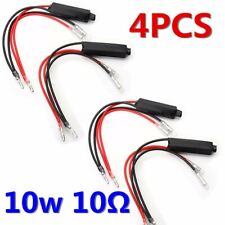 4X Motorcycle Turn Signal LED Indicator Load Resistor Flash Blinker Fix   # -/