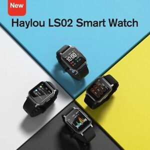 Haylou LS02 Smart Watch Heart Rate Sleep & Fitness Monitor 30-Day Battery Global