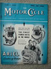 MOTOR CYCLE 5.9.57 NORTON, FRANCIS BARNETT, MANX  jm