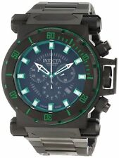 New Invicta Men's 10036 Coalition Forces SWISS MADE Chronograph Black  Watch