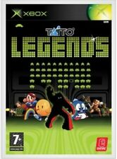 Xbox Taito Legends 28 x Games And Art Card Very Good Condition NTSC