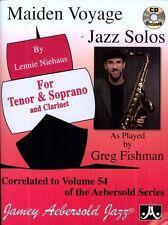 Lennie Niehaus - Vol. 54 Maiden Voyage Tenor Sax Solos [New CD]