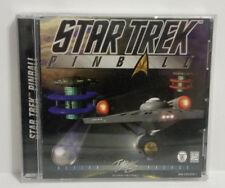 1997 STAR TREK Pinball for Computer game by INTERPLAY--PC multiplayer game!
