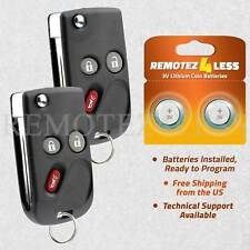 2 Keyless Entry Remote for 2003 2004 2005 2006 Hummer H2 Car Flip Key Fob