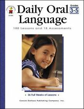 Daily Oral Language, Grades 3 - 5: 180 Lessons and 18 Assessments (Daily Series