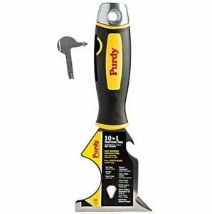 Purdy 10 in 1 Painters Multi Tool, Stainlees Steel, Rust Resistant, Hammer End