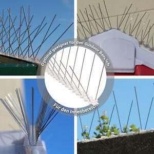 Taubenabwehr 5 Meter EDELSTAHL Spikes Vogelabwehr Taubenspikes Vogelschreck