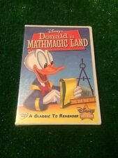 Disney's Donald In Mathmagic Land Brand New - A Classic to Remember - Lot of 3
