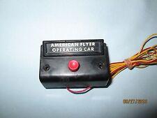 American Flyer Operating Car Control Box