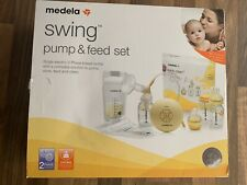 Medela Swing Single Electric Breast Pump and Feed Set