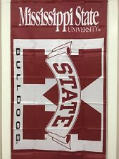 Mississippi State University Bulldogs 3' X 5' Flag -