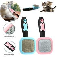 Pet Dog Cat 360 Degree Rotatable Hair Shedding Grooming Fur Comb Brush Slicker
