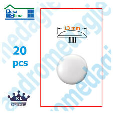 SCREW COVER CAP T30 WHITE 20 PCS NLVSC6