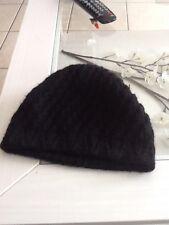 bonnet hiver noir