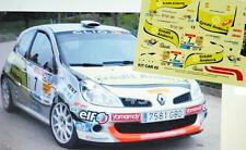 DECAL CALCA 1/43 RENAULT CLIO R3 CREDIT ANDORRA J. VINYES R. CANTABRIA INF 2009