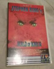 Stephen King`s WORLD OF HORROR  -  VHS Kassette Top erhalten