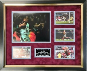 Joe Cole Signed Framed Photo West Ham Memorabilia