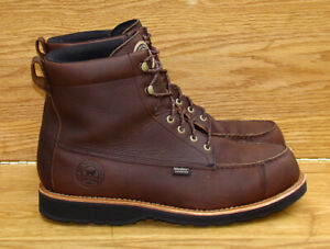 """REDWING Irish Setter Wingshooter 7"""" Upland Brown Leather  Boots 807 Men 14 D"""