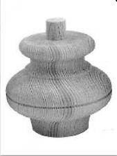 Möbelfüße Tannenholz D.110 H.100mm geschliffen unbehandelt fertig zum bearbeiten