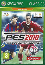 PRO EVOLUTION SOCCER PES 2010 for Xbox 360 - PAL