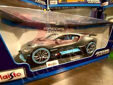 Maisto 1:18 Scale Special Edition Diecast Model Car - Bugatti Divo (Matte Gray)