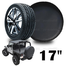 "17"" Spare Wheel Soft Tire Cover Protector Black 32""-33.5"" For Toyota FJ Cruiser"