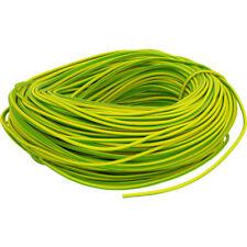 Earth Sleeving Yellow/Green, 100 Metres x 3mm PVC Earth Sleeve