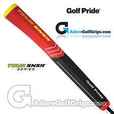 Golf Pride Tour SNSR Contour 104CC Midsize Pistol Putter Grip - Black / Red