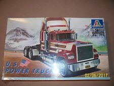 Italeri 1/24 Mack Superliner U.S. Power Truck, factory sealed.