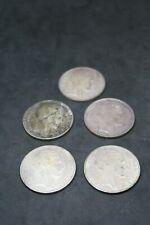 20 francs TURIN en argent - lot de cinq pièces pour collectionneur