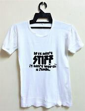 Vintage 1970s Stiff Records Punk Rock Tour Concert Promo T-Shirt The Damned