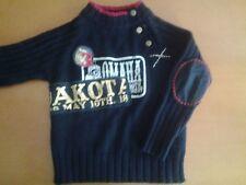 Maglioncino MIRTILLO bambino 6 anni  bimbo cm 116 maglia maglione Nero