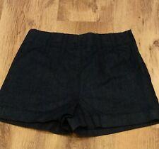 FRENCH CONNECTION Dark Denim Shorts - Size 6 - Brand New